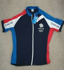 Great Britain Cycling Jersey National Team Olympics Shirt Team Gb Size L New