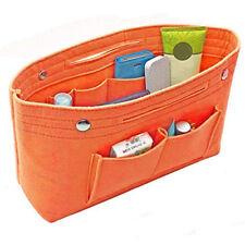 Portable Felt Fabric Purse Handbag Organizer Bag Multi Pocket Insert Large US