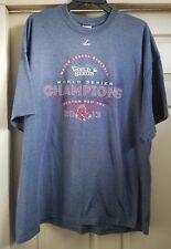 Boston Red Sox 2013 World Series Champions Logo T-shirt Size 2XL