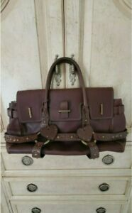 PURSE ~ LUELLA Leather Satchel Handbag With Dustbag, Pre-Owned