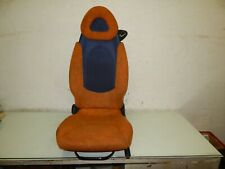 Smart 450 Sitz Links Fahrersitz Orange Blau 246068