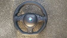 BMW M3 M5 E46 E39 X5 INDIVIDUAL FLAT BOTTOM CUSTOM MADE STEERING WHEEL