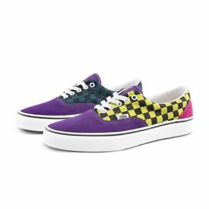 Vans Era Sport Pack Checkers Skate Shoes Size 8.5 Women's