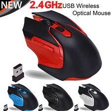 Scroll 3200DPI USB Cordless Laptop Optical Mouse 2.4G Wireless Gaming Mouse Mice