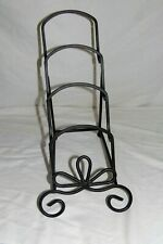 Cast Iron Tabletop Four Plate Rack