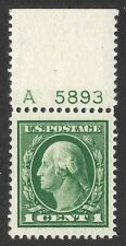Doyle's_Stamps: PF-Certed 1912 XF+ 1c Plate Single
