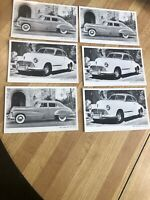 1947 Oldsmobile Postcards Nos Lot Of 6