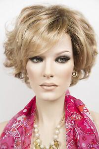 Jodie Short Bob SmartLace Front Monofilament Top and Crown Jon Renau Wavy Wigs