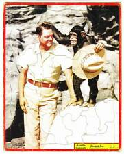 Jungle Jim - Johnny Weissmuller puzzle - 1956 Tv show tie-in toy
