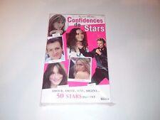 """Johnny Hallyday Livre  """"Confidences de Stars"""""""