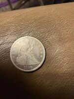 1840 SEATED LIBERTY DOLLAR ~ VF ~ PRICED RIGHT!