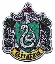 Harry Potter House of SLYTHERIN Crest Applique 2.75 inch Patch