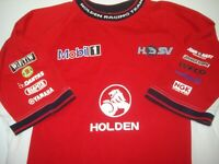 HRT HSV LIONS DEN MOBIL ONE HOLDEN SZ MEDIUM MENS RED T SHIRT FREE POSTAGE