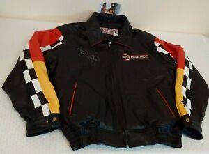 1/1 NASCAR Autographed Signed RICHARD PETTY Jacket Coat MULE HIDE Sponsor L JSA