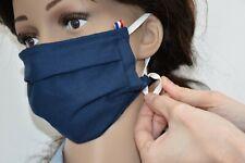 Lot de 5 protections en tissu ajustable, lavable + sac de lavage