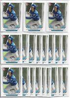 2014 Bowman Draft Raul Adalberto Mondesi (20) Card Bulk Paper Lot Royals #TP-6