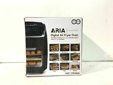 Modern Home Aria 10 Qt. Black AirFryer New Other *Read*