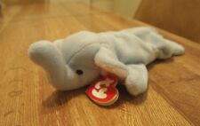 Gently used Peanut Beanie Baby (light blue) **rare**