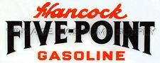 Hancock Five Point Flat Ad Glass (AG439)