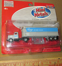HO Classic Metal Works - CMW - #31143 Mini Metals - Kroger - Tractor/Trailer