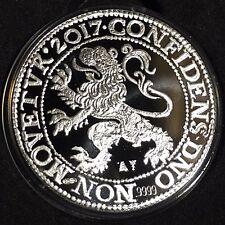 2017 Netherlands Royal Dutch Lion Dollar 1oz 9999 Silver Proof Coin ~ Only 5K