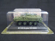M1126 Stryker ICV Diecast Amercom 1:72 armored personnel carrier US Army 2003