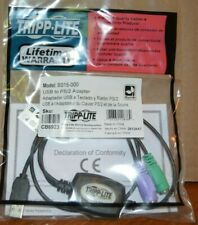 Tripp-Lite USB to PS/2 Adapter - Keyboard & Mouse B015-000 - New