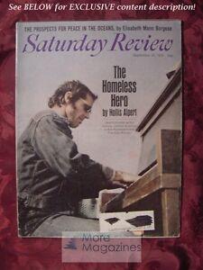 Saturday Review September 26 1970 JACK NICHOLSON ELISABETH MANN BORGESE