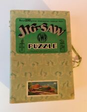 Vintage Chad Valley GWR Wooden Jigsaw Puzzle