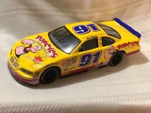 NASCAR Diecast 1/24 scale #91 RICH BICKLE Popeye's Chicken/Biscuits Pontiac