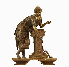 19th Century French Bronze Statue of Roman Man