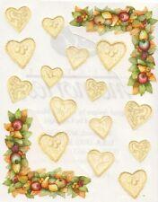 NEW Creative Memories BLOCK STICKER - Cottage Hearts TTY Sticker