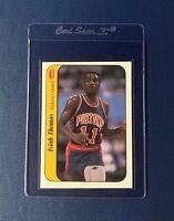 1986-87 Fleer Basketball - #10 Isiah Thomas RC Sticker