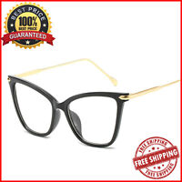Cat Eye Frame Glasses Fashion Accessories Over-Sized Optical Eyewear For Women