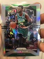 2019-20 Panini Prizm Basketball Jaylen Brown Boston Celtics Silver Prizm #40