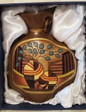 Da Jing Chinese Pottery Vase New in Box decor collectible