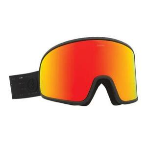 Electric Electrolite Goggles Matte Black Brose/Red Chrome