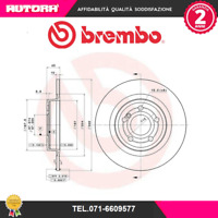08B74141-G 2 disco freno post Mercedes-Benz SLK (R172) (BREMBO)