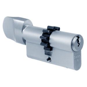 EVVA A5Z COG Euro Key & Turn Cog Wheel Cam Cylinder 72mm 36/T36 (31/10/T31) NP