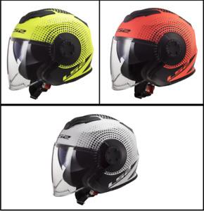LS2 OF570 Verso Spin Flip Up/Open Face Urban Downtown Motorbike Helmet