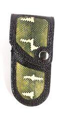 REAL EMERALD TREE BOA SKIN knife sheath buck 110, case 6265 Handmade BUCKTOOL