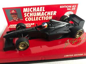 Ferrari Testcar 1998 Michael Schumacher 1:43 LIMITED EDITION 12,222 Pcs