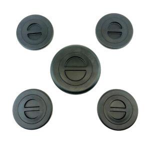 5th Wheel Gooseneck Bed Plug Cover Kit Fit For Ram 2500 3500 2014-2019 Black