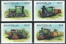 Antigua & Barbuda - Lokomotiven Satz postfrisch 1981 Mi. 607-610