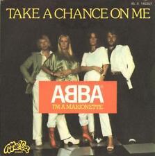 "Abba(7"" Vinyl P/S)Take A Chance On Me / I'm A Marionette-Melba-45 X 140-G+/G+"