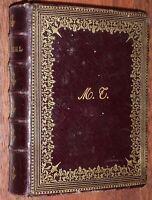 MISSEL DES EVANGELISTES Paroissien Romain RELIURE MAROQUIN VERS 1890 gravures