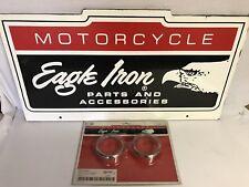 OEM Eagle Iron Turn Signal Trim Rings 86-90 XL, FX, FXR 67739-90T Robison HD