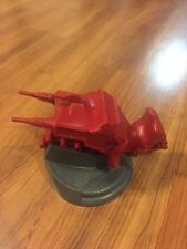 Vintage MOTU Eternia Big Red Cannon Laser Blaster Gun With Base 1986