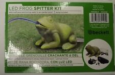 Beckett 7212510 Frog Spitter Kit For Pond With Pump And Led
