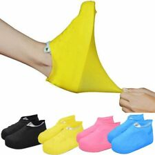 Outdoor latex shoe cover rainy day waterproof thickening non-slip foot covers